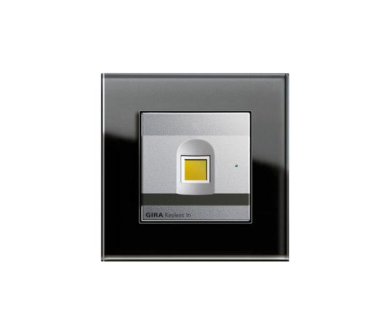 Esprit Glas | Keyless In von Gira | Fingerprint