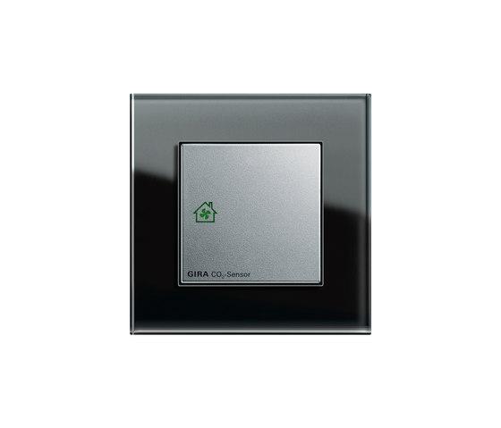 Esprit Glass | Sensor for room air quality by Gira | Air/CO₂ sensors