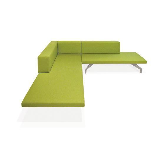 Lof Sofa de PIURIC | Éléments de sièges modulables
