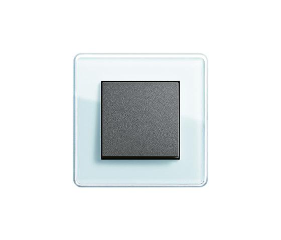 Esprit Glass C   Switch range by Gira   Push-button switches