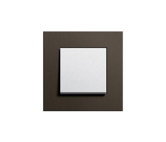 Esprit Wenge wood | Switch range by Gira | Push-button switches