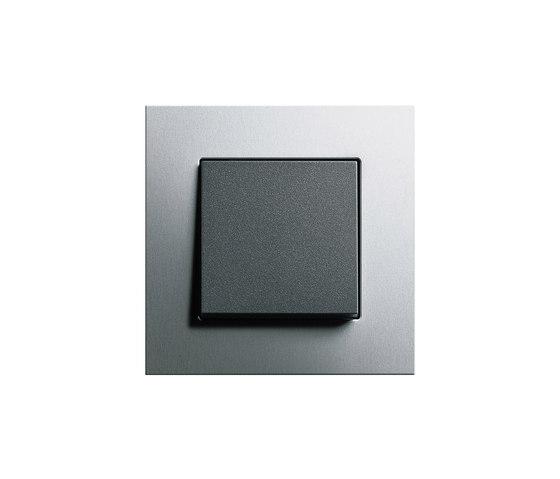 Esprit Aluminium | Switch range by Gira | Push-button switches