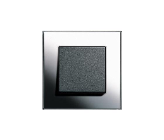 Esprit Chrome | Switch range by Gira | Push-button switches