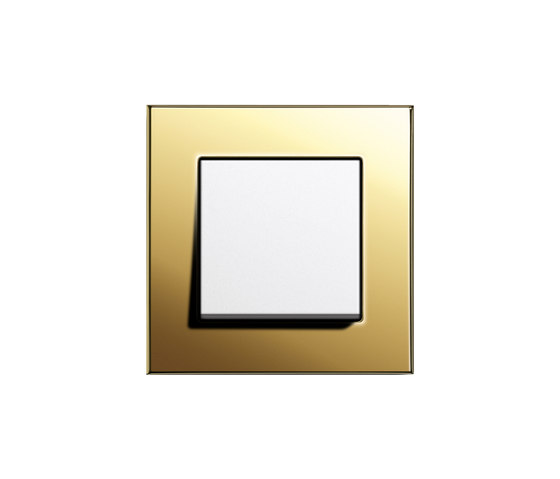 Esprit Brass | Switch range by Gira | Push-button switches