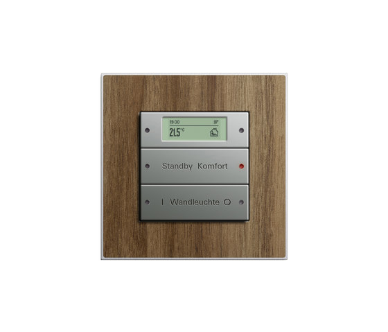 Esprit Walnut | Touch sensor by Gira | Lighting controls