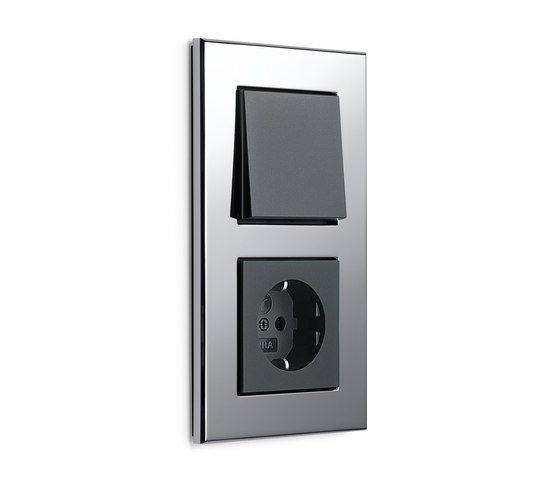 Esprit Chrome | Switch range by Gira | Push-button switches