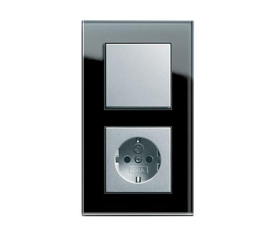 Esprit Glass | Switch range di Gira | interuttori pulsante