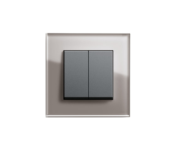 Esprit Glass | Series control switch di Gira | interuttori pulsante