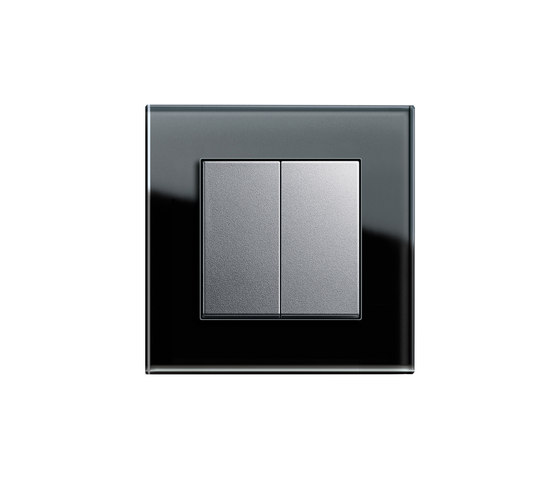 Esprit Glass | Series control switch by Gira | Push-button switches