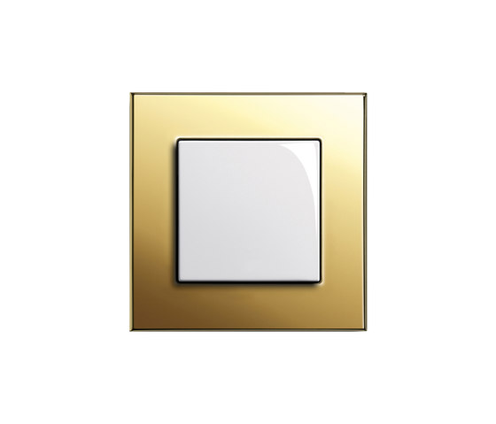 Esprit Brass | Touch dimmer by Gira | Button dimmers