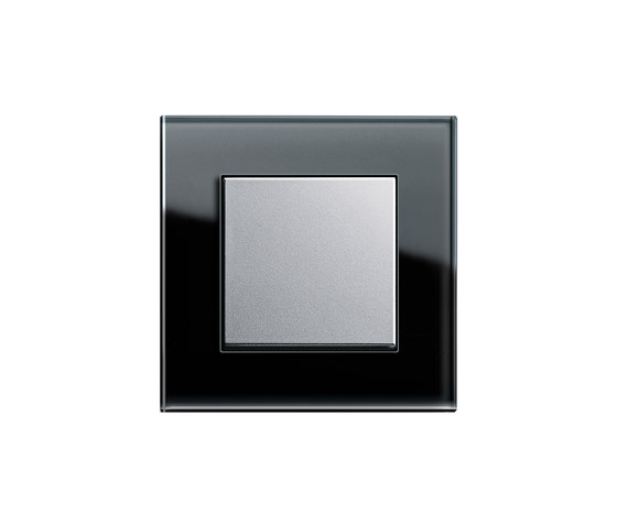 Esprit Glass | Touch control switch by Gira | Push-button switches