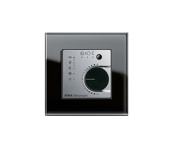 Esprit Glass | Continuous regulator by Gira | Heating / Air-conditioning controls