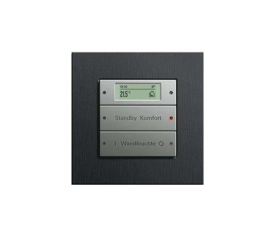 Esprit Aluminium Schwarz | Touch sensor by Gira | Lighting controls