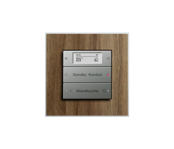 Esprit Walnut | Touch sensor by Gira | Lighting controls