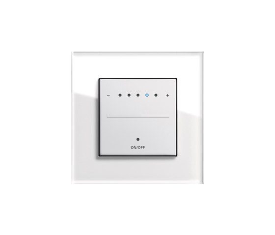 Esprit Glass | Touch dimmer by Gira | Button dimmers