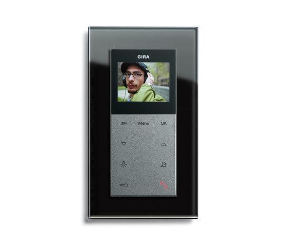 Esprit Glass | Home station by Gira | Intercoms (interior)