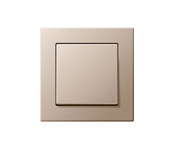 A creation champagne switch by JUNG | Two-way switches