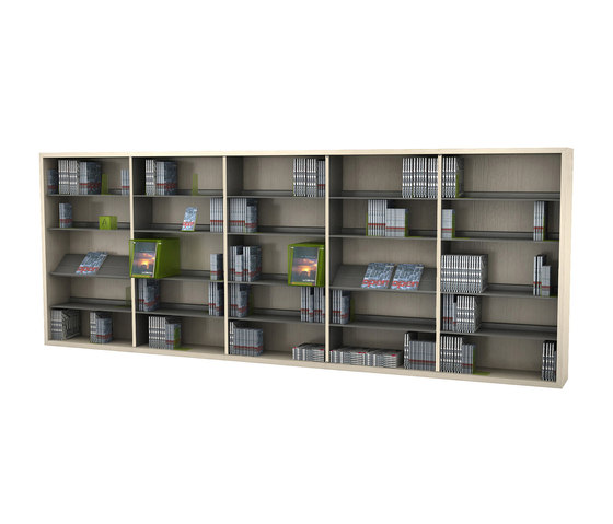 BK 1 by IDM Coupechoux | Library shelving systems