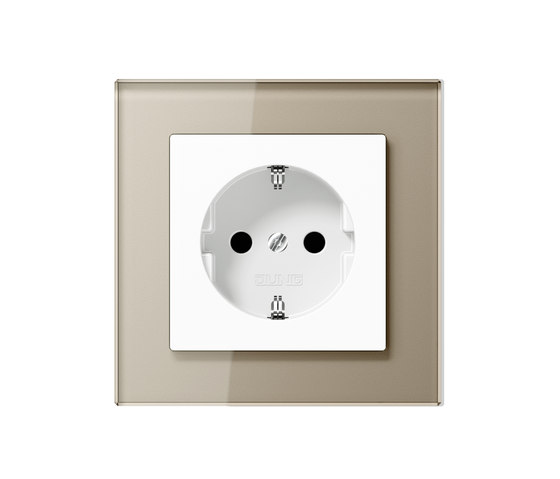 A creation socket by JUNG | Schuko sockets