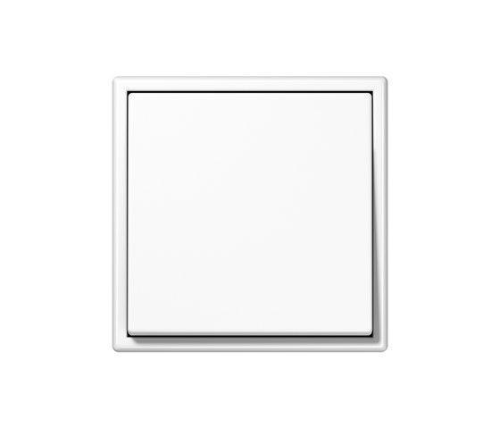 LS 990 white light switch by JUNG | Two-way switches