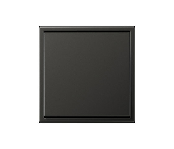 ls 990 by jung aluminum dark switch aluminum dark dimmer. Black Bedroom Furniture Sets. Home Design Ideas