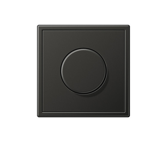 LS 990 anthracite dimmer by JUNG | Rotary dimmers
