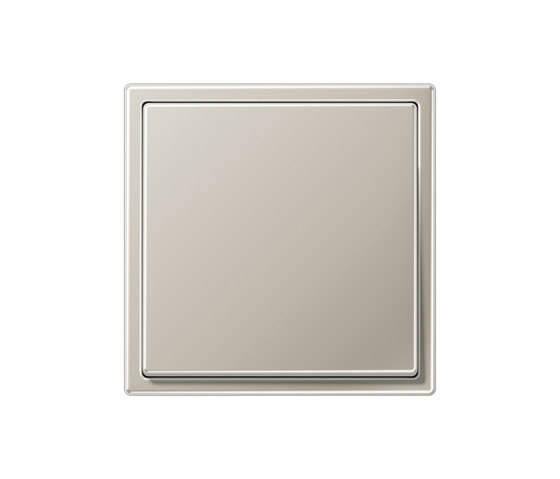 LS 990 stainless steel switch by JUNG | Two-way switches