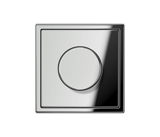 LS 990 Glanzchrom Drehdimmer von JUNG | Drehdimmer