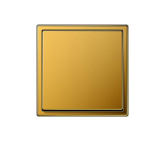 LS 990 Gold 24 Karat Schalter von JUNG | Wippschalter