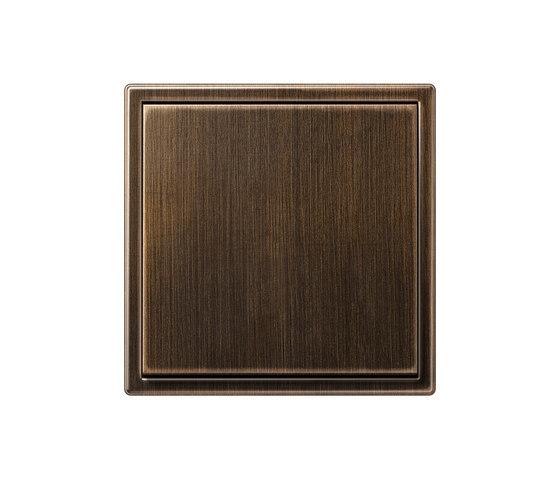 ls 990 messing antik schalter wippschalter von jung. Black Bedroom Furniture Sets. Home Design Ideas