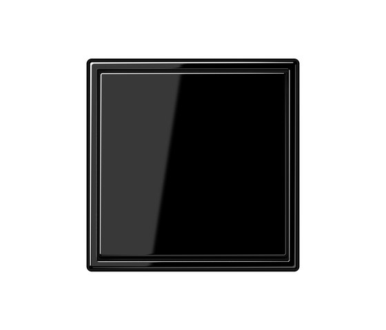 LS 990 Schwarz Schalter von JUNG | Tastschalter