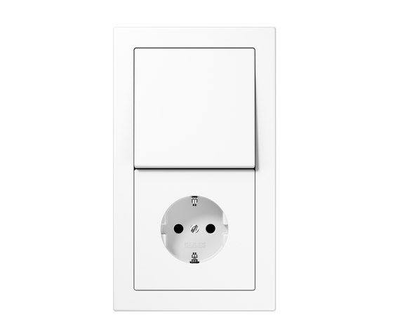LS-design switch-socket by JUNG | Push-button switches