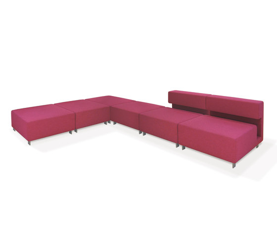 2cube Sofa by PIURIC | Modular seating elements