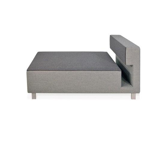 2cube Sessel Chaise Longue von PIURIC | Modulare Sitzelemente