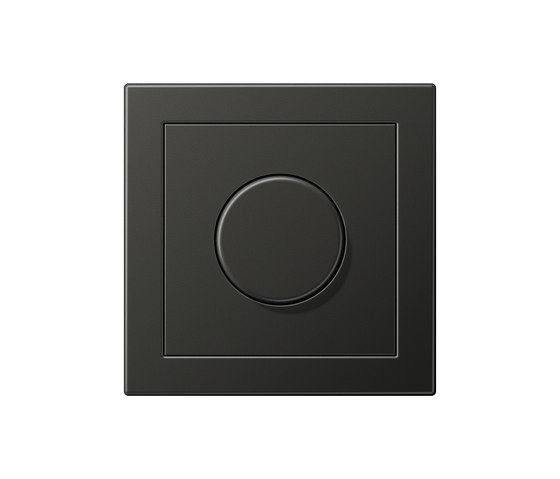 LS-design anthracite dimmer by JUNG | Rotary dimmers