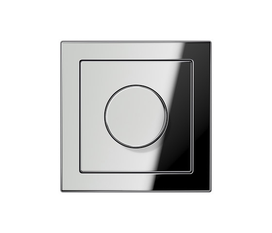 LS-design chrome dimmer by JUNG | Rotary dimmers