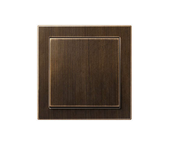 LS-design brass antique switch by JUNG | Two-way switches