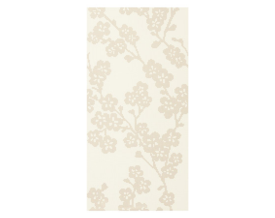 Audrey | Decoro blossoms sabbia chiaro by Lea Ceramiche | Ceramic tiles