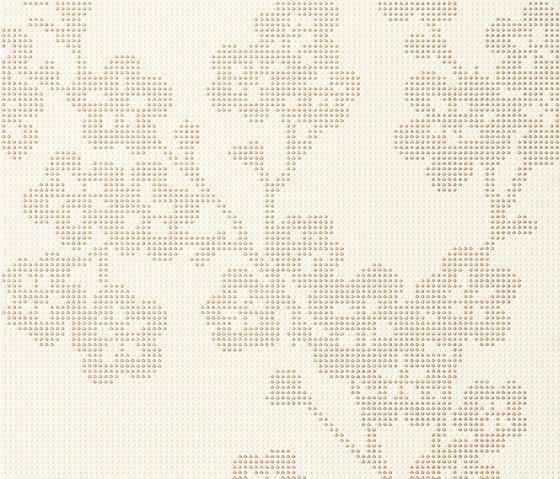 Audrey | Decoro blossoms sabbia chiaro by Lea Ceramiche | Wall tiles