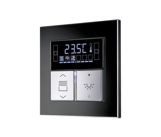 knx by jung room controller oled ls 990 krmtsd ls 990. Black Bedroom Furniture Sets. Home Design Ideas