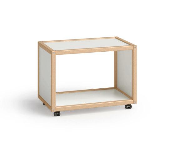 Profilsystem di Flötotto | Carrelli porta Hi-Fi / TV