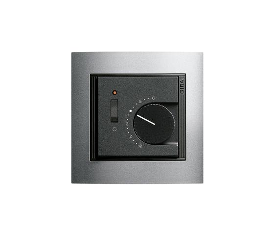 Event Opaque | Room temperature regulator de Gira | Gestión de clima / calefacción