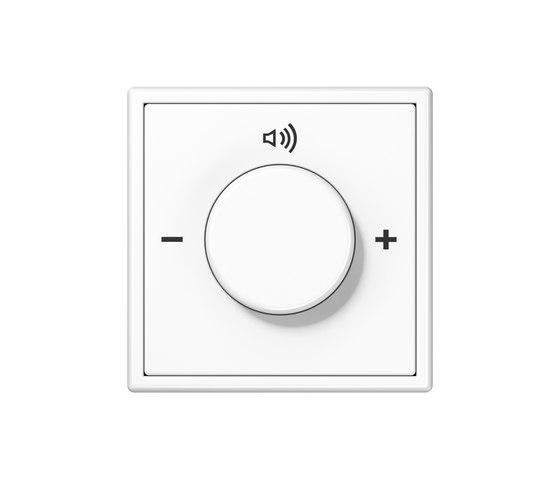 KNX LS 990 Rotary sensor di JUNG | Gestione del suono