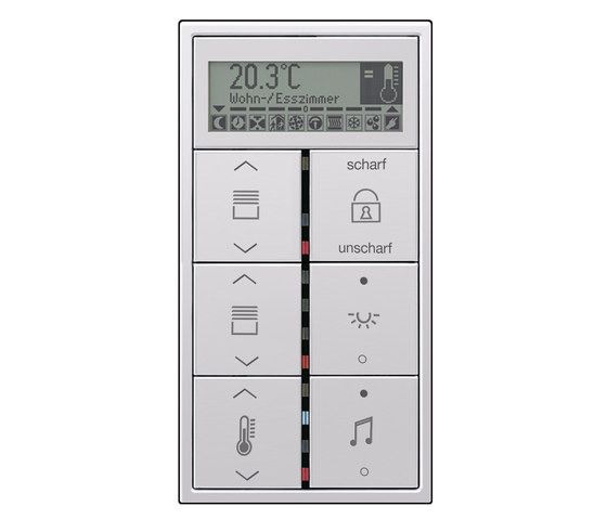 KNX RCD LS 990 room controller by JUNG | Room controls