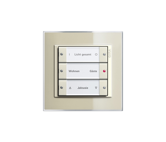 Event Clear   Touch sensor by Gira   Lighting controls