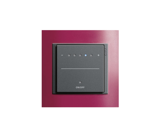 Event Opaque | Touch dimmer by Gira | Button dimmers