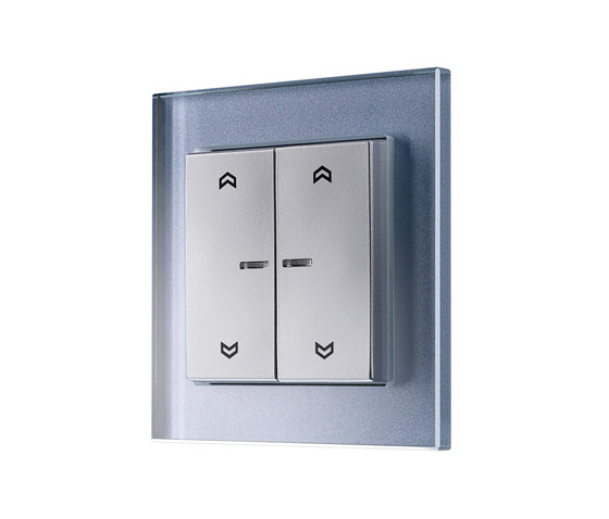 KNX A creation Push-button with integrated bus coupling by JUNG | Lighting controls