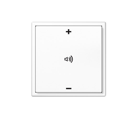 KNX LS 990 Push-button with integrated bus coupling di JUNG | Gestione del suono