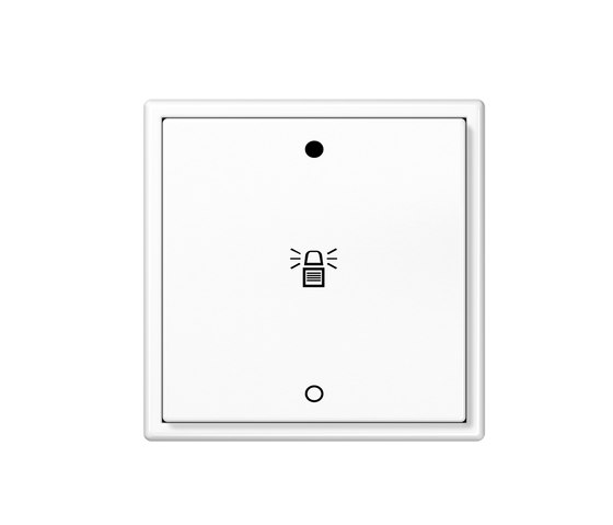 KNX LS 990 Push-button with integrated bus coupling di JUNG | interuttori a pulsante