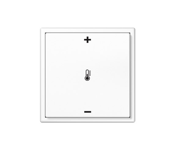 KNX LS 990 Push-button with integrated bus coupling by JUNG | Heating / Air-conditioning controls